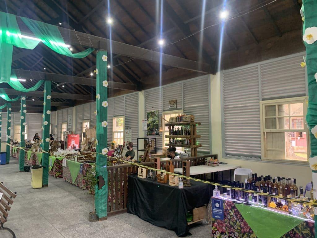 Mercado de Paranapiacaba produtos