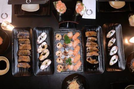 Oguru Sushi e Bar pratos