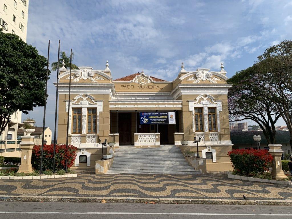 Paço Municipal em Itatiba