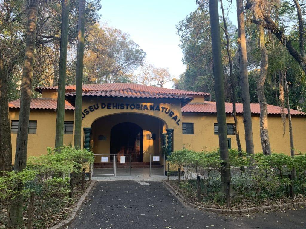 Parque Bosque dos Jequitibás museu de historia natural