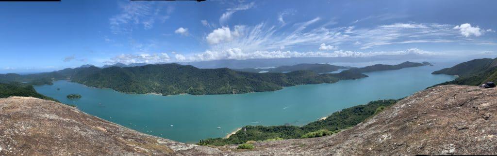 Pico do Pão de Açúcar vista panoramica Saco do Mamanguá