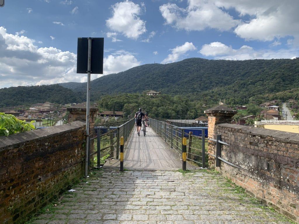 ponte metalica Paranapiacaba