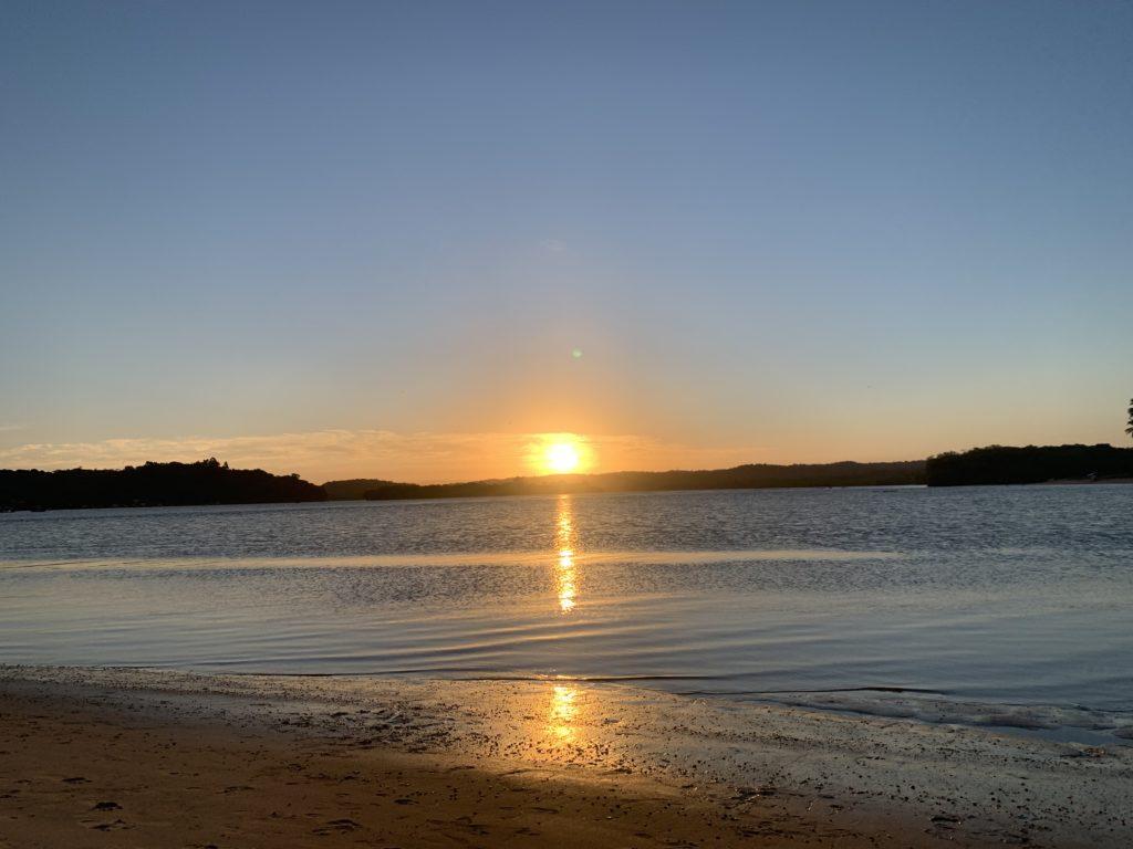 Por do Sol na Praia do Pontal - Itacaré
