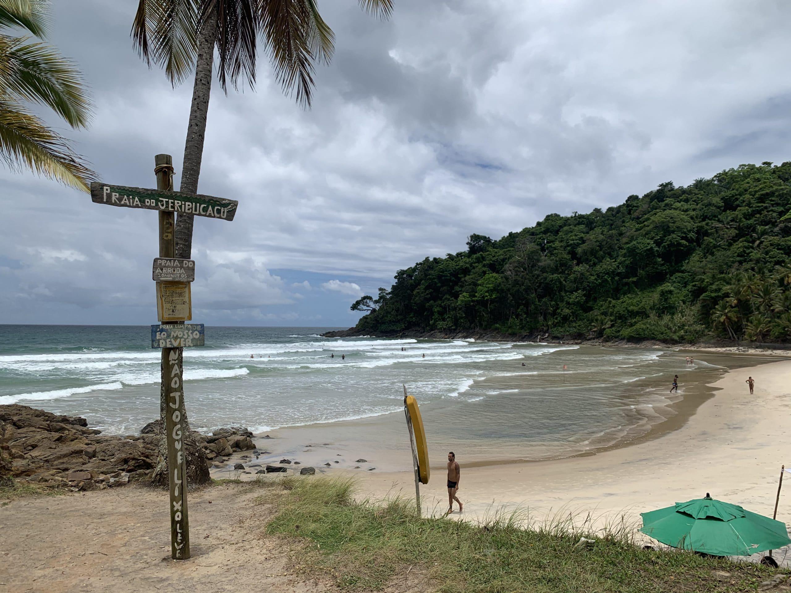 Praia de Jeribucaçu - Itacaré