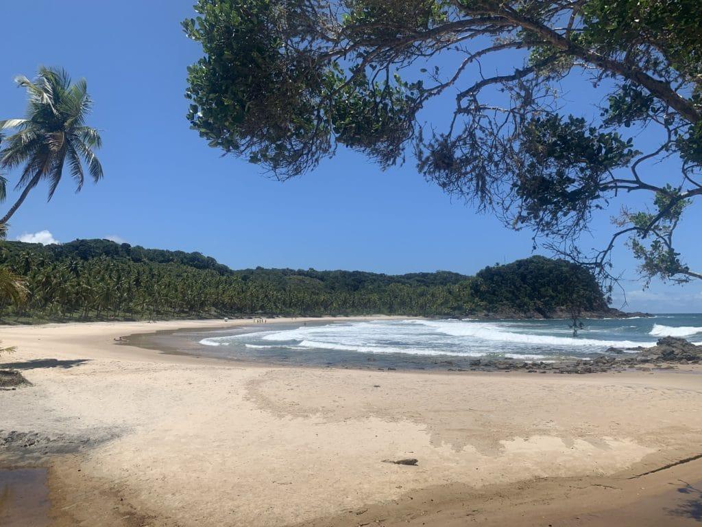 Prainha trilha da praia de São José