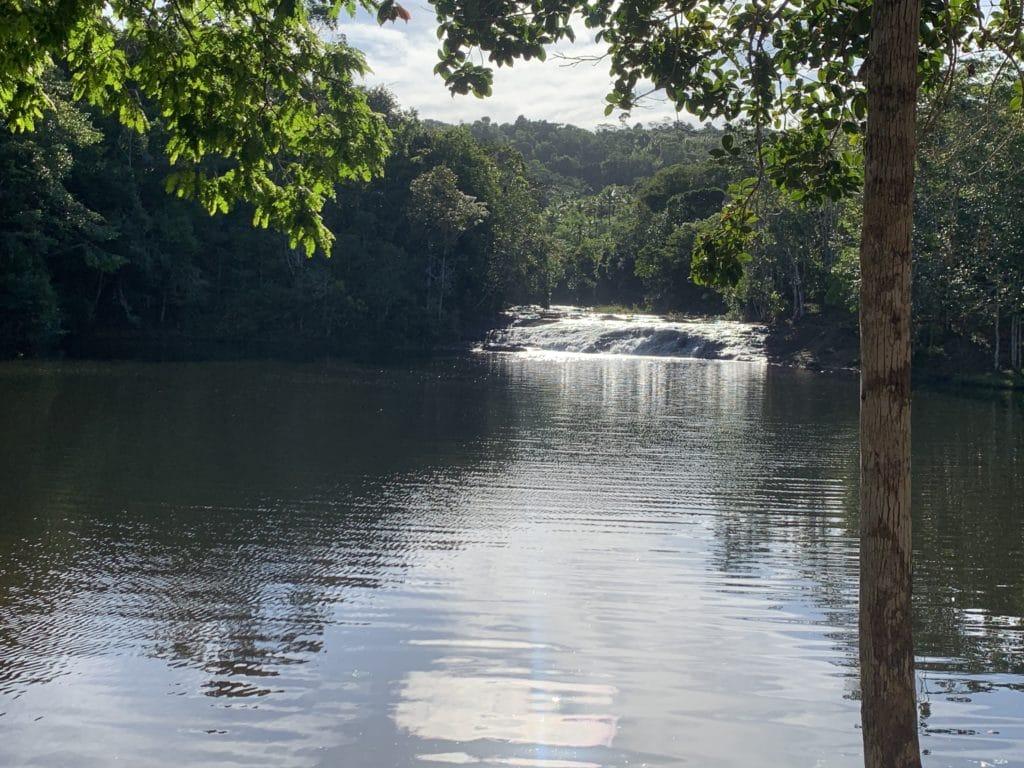 Segunda queda e poção da Cachoeira do Tijuípe - Itacaré