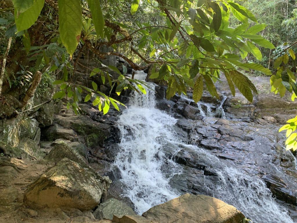 Queda d'água da Cachoeira do Cleandro - Itacaré