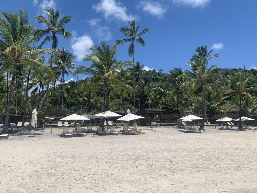 Quiosque Itacarezinho Restaurante na Praia de Itacarezinho - Itacaré
