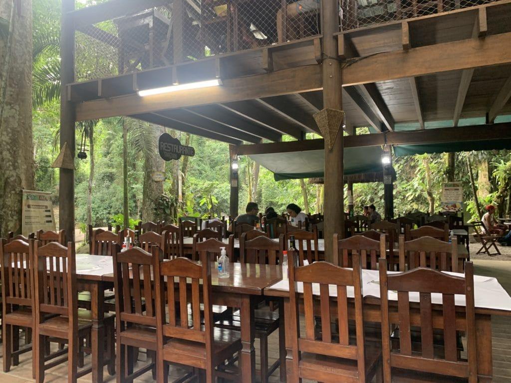 Restaurante do Tarzan em Paraty