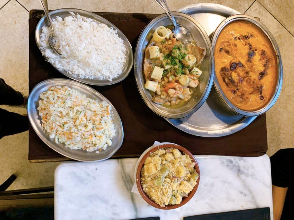 restaurante canal 4 pratos
