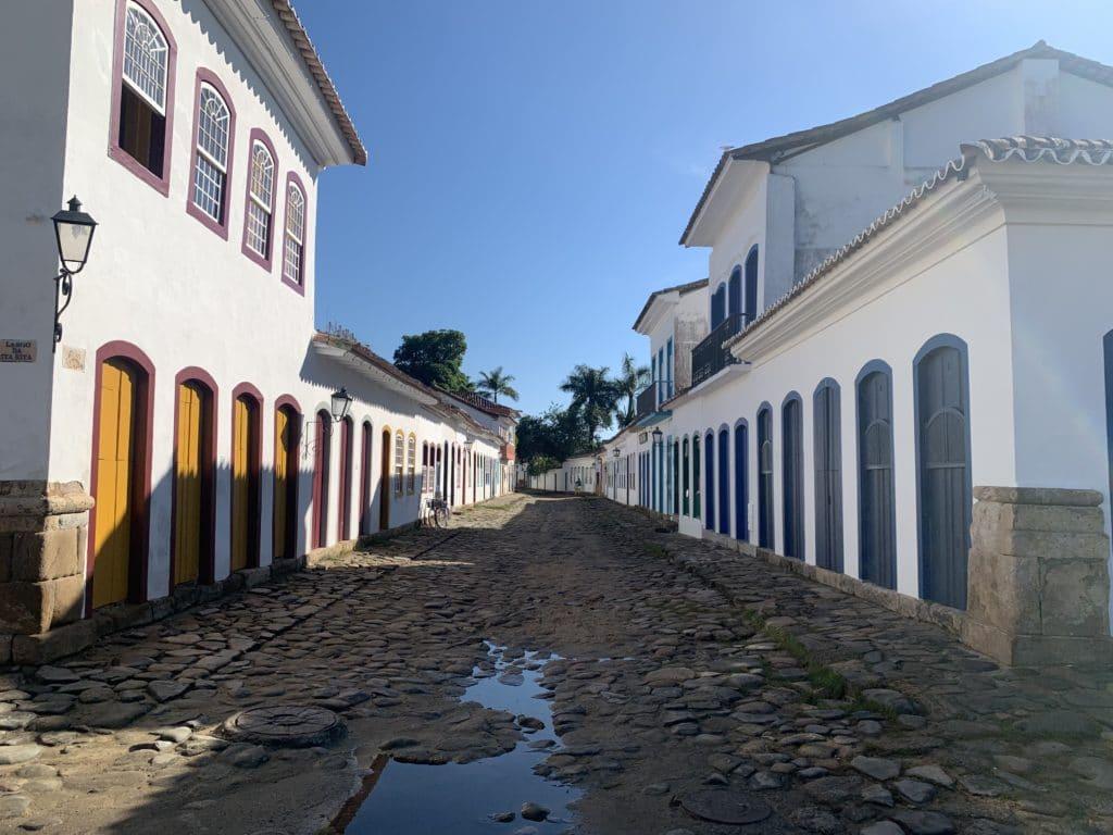 Ruas do centro histórico de Paraty