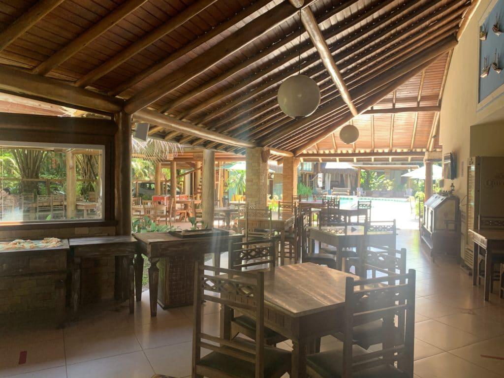 Salão do Restaurante Terra Boa - Itacaré