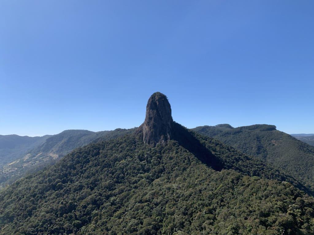 Vista do Baú da Ana Chata em São Bento do SApucaí
