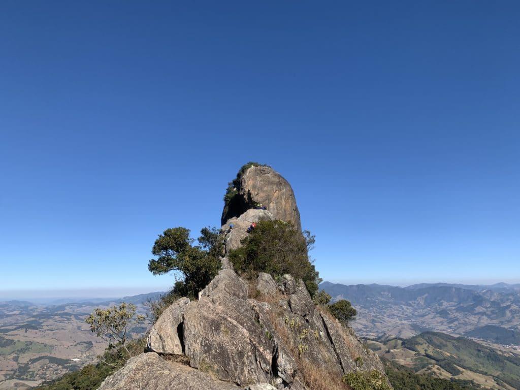 Vista do Baú do Bauzinho em São Bento do Sapucaí