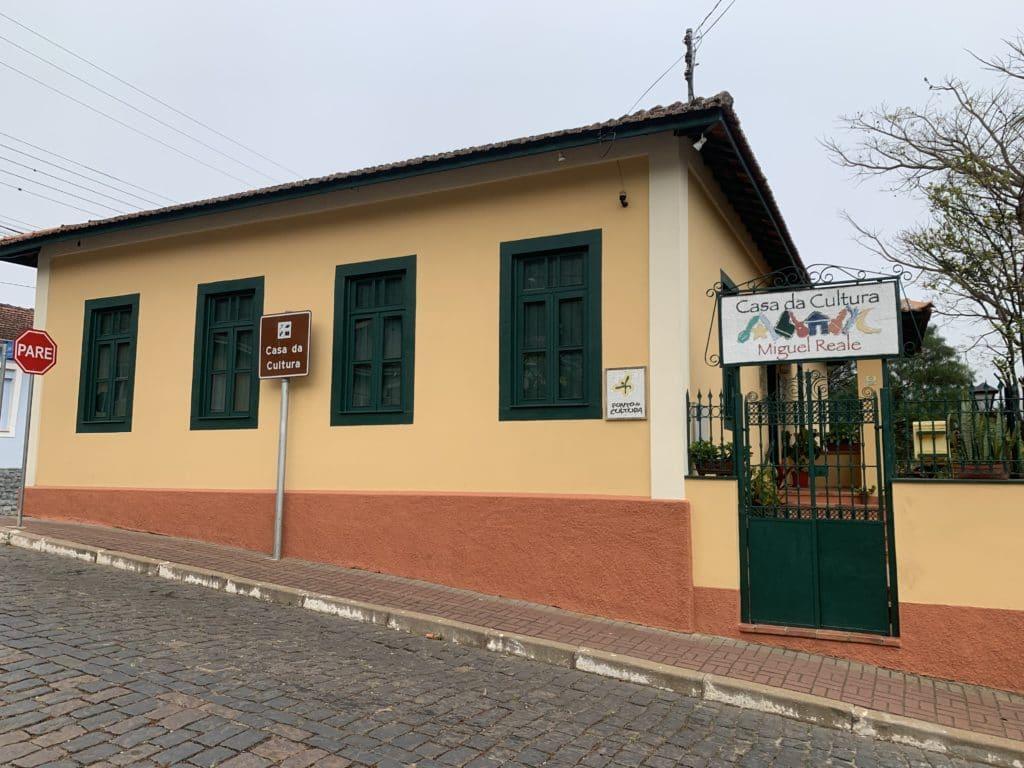 Casa da Cultura Miguel Reale em São Bento do Sapucaí
