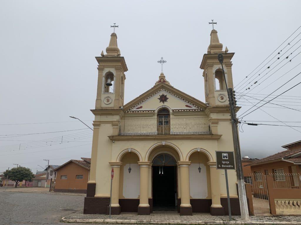 Igreja de São Benedito em São Bento do Sapucaí