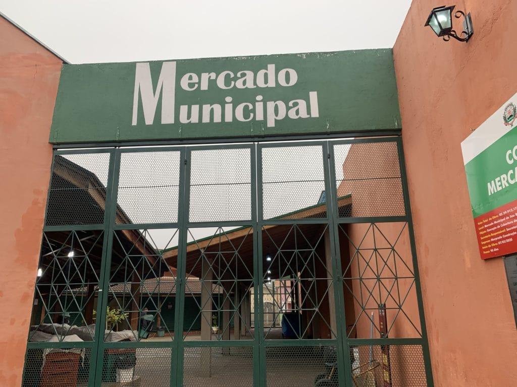 Mercado Municipal em São Bento do Sapucaí