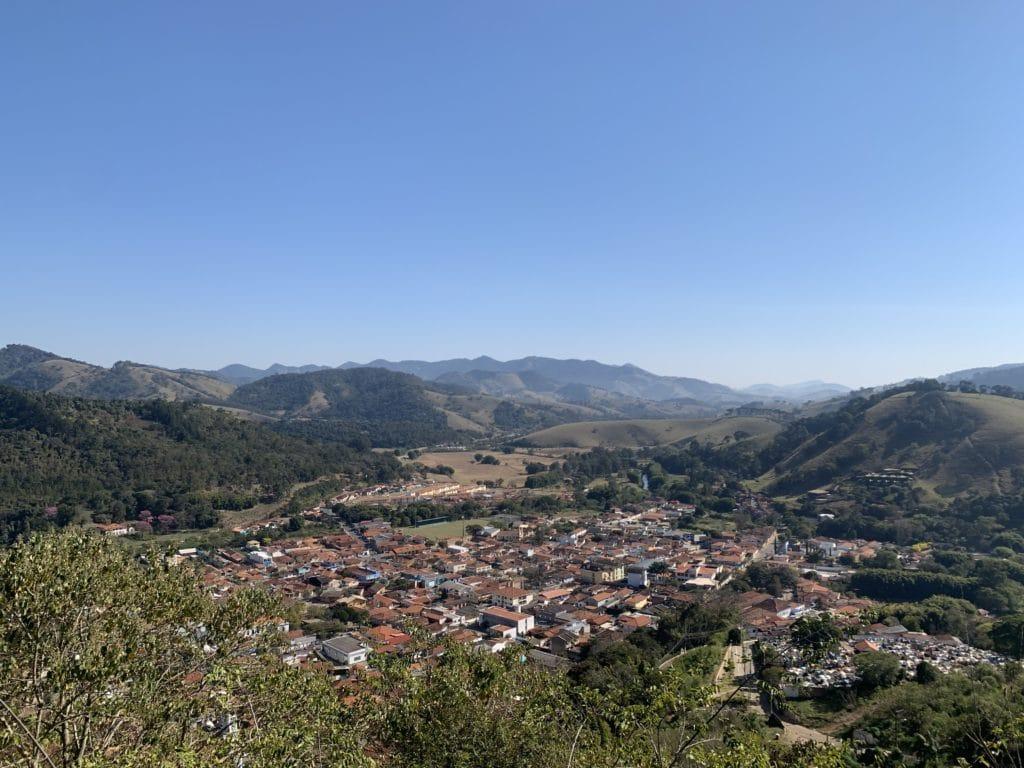 Vista da Cidade de São Bento do Sapucaí  do Mirante do Cruzeiro