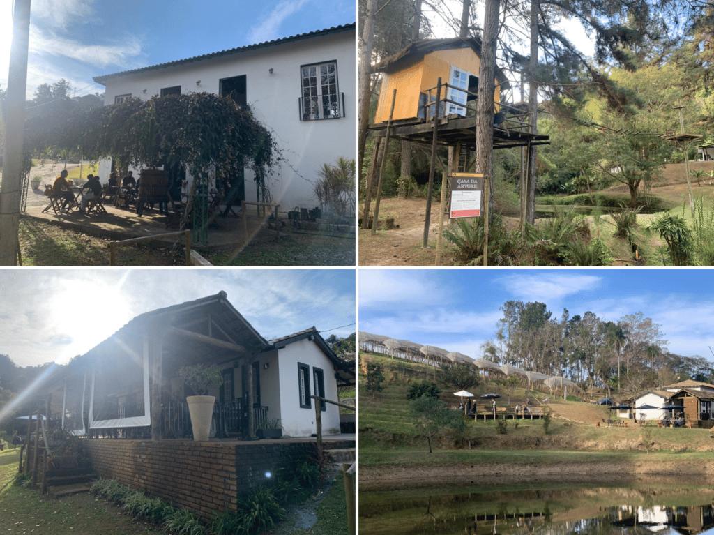 Vinícola casa da árvore em São roque super aconchegante