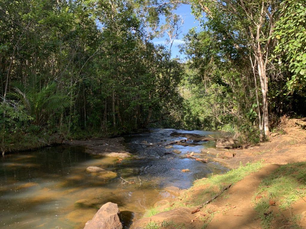 Último andar da Cachoeira do Cleandro - Itacaré