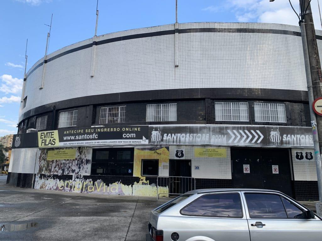 Estádio vila belmiro