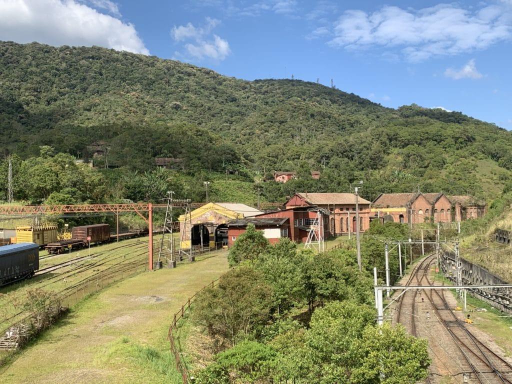 vista da ponte em paranapiacaba