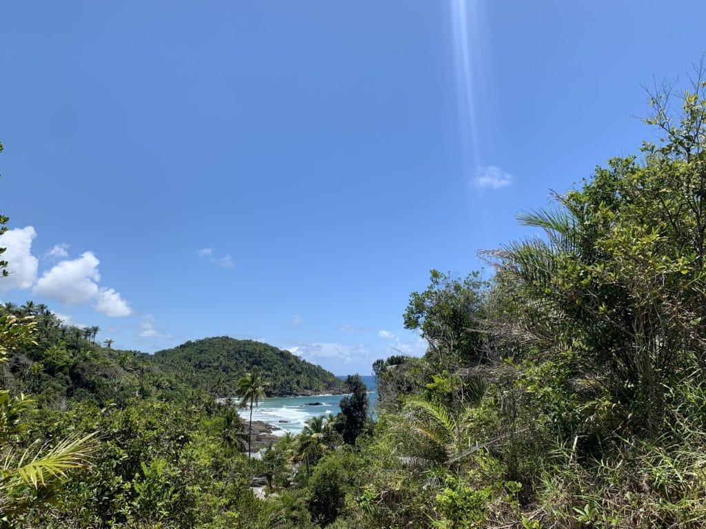 Vista da Praia de Camboinha - Itacaré