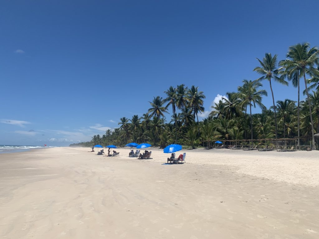 Vista da Praia de Itacarezinho - Itacaré