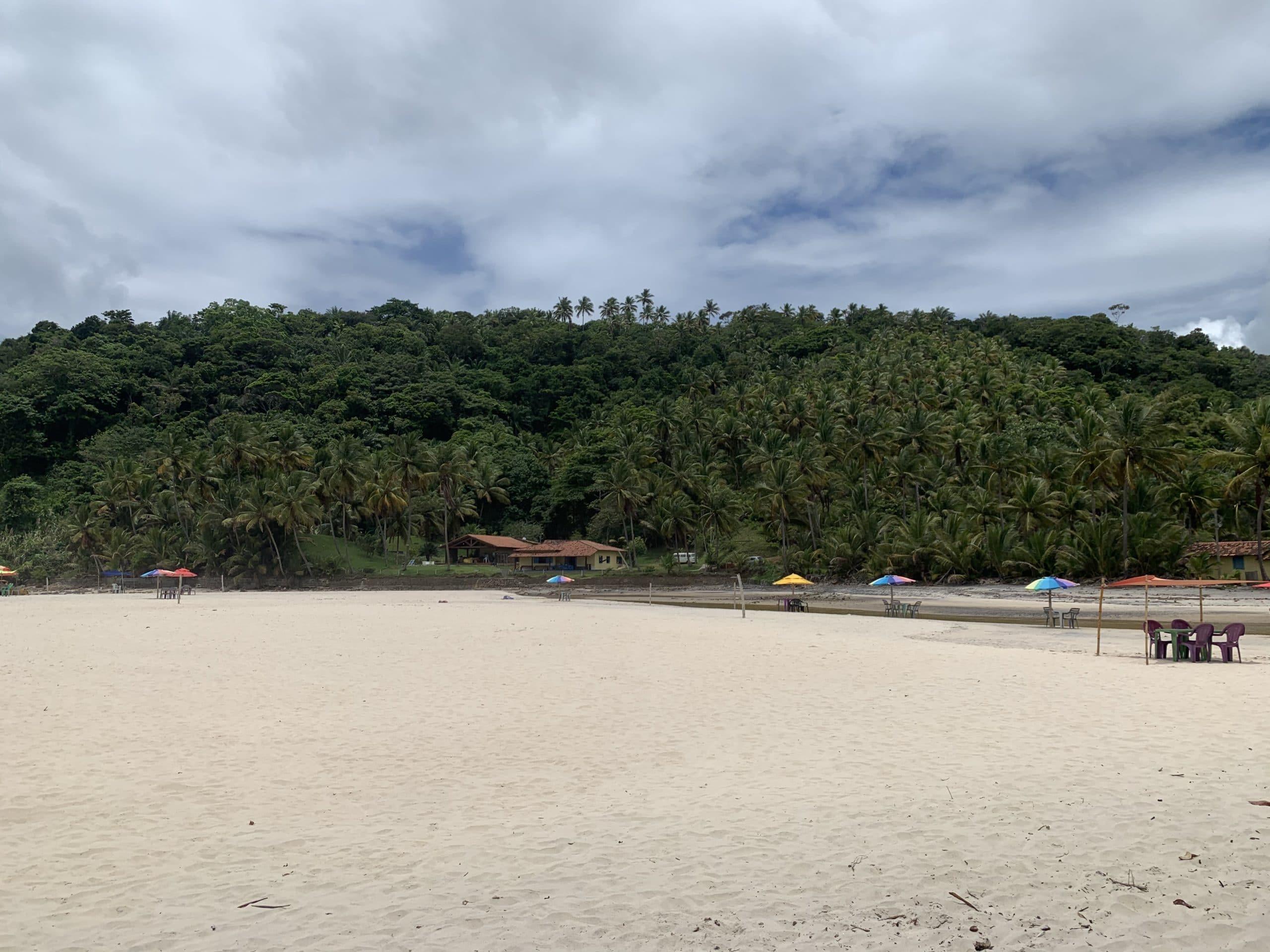 Vista da Praia de Jeribucaçu - Itacaré