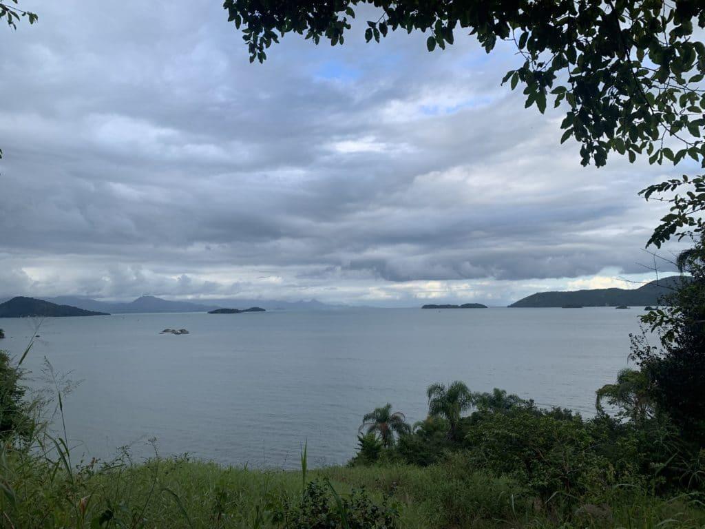 Vista do forte de Paraty