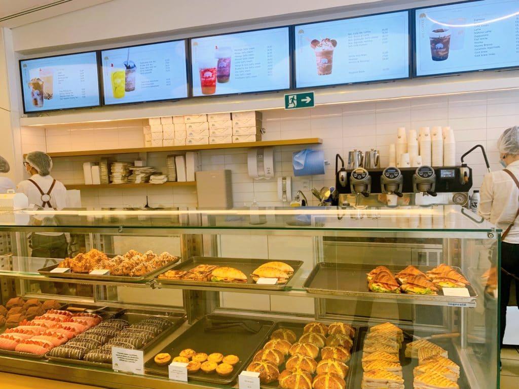 we coffe balcão