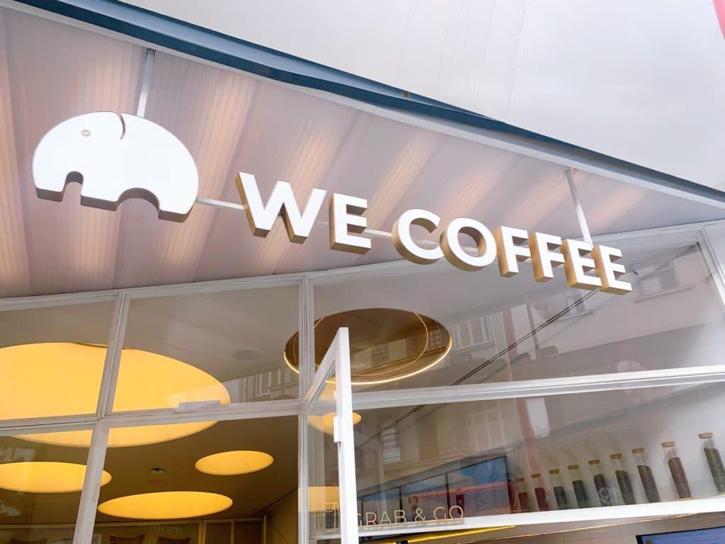 we coffee entrada